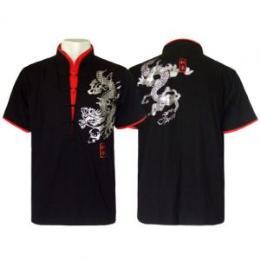 เสื้อจีนผู้ชาย เสื้อยืด RM103
