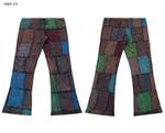 กางเกงขาม้าผ้าต่อ FNEP273