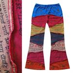 กางเกงขาม้าผ้าต่อ FNEP206