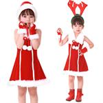 ชุดซานต้าเด็กผู้หญิง  XD004