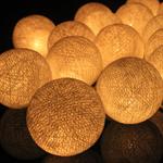 ไฟประดับรูปลูกบอลด้าย  LAMP10