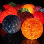 ไฟประดับรูปลูกบอลด้าย  LAMP9