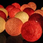 ไฟประดับรูปลูกบอลด้าย  LAMP8