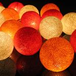 ไฟประดับรูปลูกบอลด้าย  LAMP7