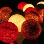 ไฟประดับรูปลูกบอลด้าย  LAMP6