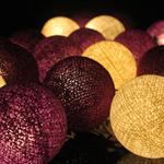 ไฟประดับรูปลูกบอลด้าย  LAMP4