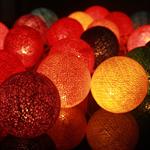 ไฟประดับรูปลูกบอลด้าย  LAMP2