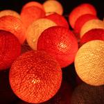 ไฟประดับรูปลูกบอลด้าย  LAMP3