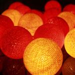 ไฟประดับรูปลูกบอลด้าย  LAMP1