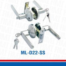ลูกบิด/มือจับพร้อมลูกกุญแจ 11 ลูกปืน ML-D22-SS