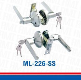 ลูกบิด/มือจับพร้อมลูกกุญแจ ML-226-SS