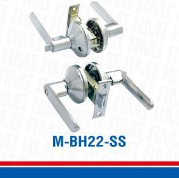 ลูกบิด/มือจับพร้อมลูกกุญแจห้องน้ำ M-BH22-SS