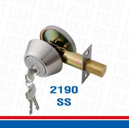กุญแจลูกบิดระบบลิ้นล็อคตาย 2190 SS