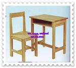 โต๊ะนักเรียนไม้ยางพารา AT-11