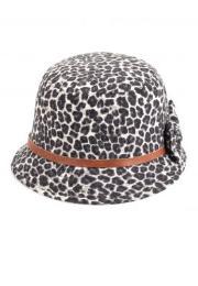 ซิงกิส หมวกทรงระฆังคว่ำพิมพ์ลายเสือดาว
