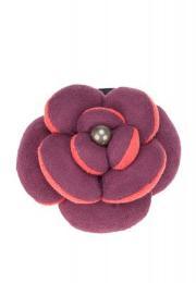 เซอร์เคิล เฟอร์เฟคต้า ยางมัดผมรูปดอกไม้ - ม่วง