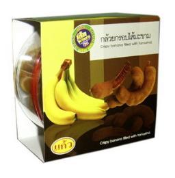 กล้วยอบกรอบ กล้วยกรอบไส้มะขาม 51-008