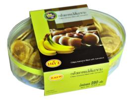 กล้วยอบกรอบ กล้วยกรอบไส้มะขาม 51-009