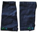 ปลอกแขนผ้ายีนส์ ยาว 11 นิ้ว ตีนตุ๊กแก (MBJACVJ1)