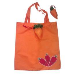 ถุงผ้าร่มพับได้รูปแครอท BG-carrot