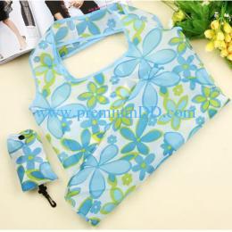 ถุงผ้าร่มพับได้แฟนซี CN02-BlueFlower