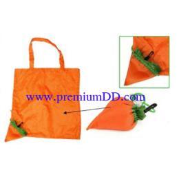 ถุงผ้าร่มพับได้ ลายแครอท CN09