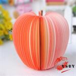 กระดาษโน๊ต รูปแอปเปิ้ลแดง ดีไซน์เก๋