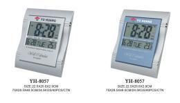 นาฬิกาดิจิตอล  รุ่น YH-8057