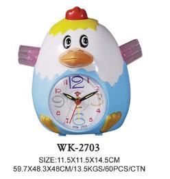นาฬิกาปลุกรูปการ์ตูน รุ่น WK-2703