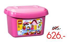 ตัวต่อเลโก้เบสิค บัคเก็ต สีชมพู - 5585