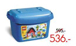 ตัวต่อเลโก้เบสิค บัคเก็ต สีฟ้า - 6161