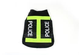 เสื้อสุนัขตำรวจมีแถบเรืองแสงตอนกลางคืน