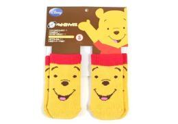ถุงเท้าน้องหมาลาย Pooh
