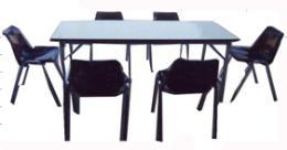 โต๊ะเก้าอี้ อาคารโรงอาหาร และหอประชุม 100/27