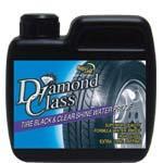 น้ำยาเคลือบเงายางดำรถยนต์ สูตรกันน้ำ  ไดมอนด์คลาส 1000 ml.