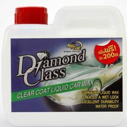 น้ำยาเคลือบเงาสีรถ ไดมอนด์คลาส ไม่ต้องขัด 1000 ml.