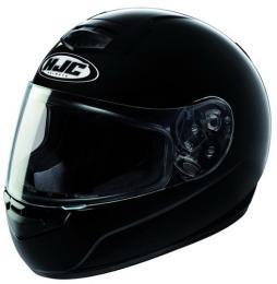 หมวกกันน็อค  HJC  สีเดียว ไซด์ L สีดำ