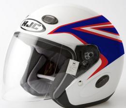 หมวกกันน็อค  HJC  ลายCBR ไซด์ L สีขาว