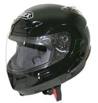 หมวกกันน็อค Helmet INDEX Hybrid 3 สีดำเงา