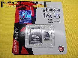 เมมโมรี่ Micro SD ขนาด 16G (ของแท้) 002905