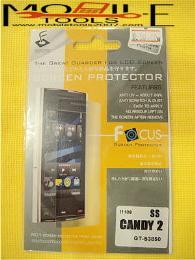 ฟิล์มกันรอย Samsung Candy 2 แบบใส (S3850) 002854