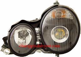 ไฟหน้ารถยนต์ BENZ E-CLASS W210 95-98 ดำ