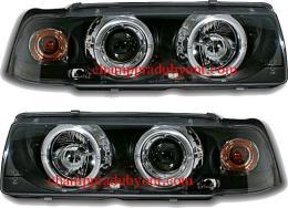 ไฟหน้ารถยนต์ BMW 3 SERIES E36 91-00 2D ดำ มุมติด