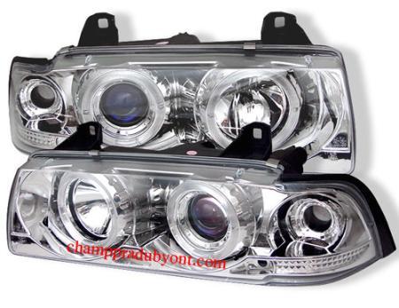 ไฟหน้ารถยนต์ BMW 3 SERIES E36 91-00 4D ขาว
