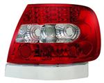 ไฟท้าย AUDI A4 95-00 ขาวแดงเพชร LED