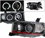 ไฟหน้ารถยนต์  TOYOTA bB / SCION XB 04-07 ดำ วงแหวน