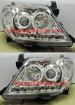 ไฟหน้ารถยนต์  TOYOTA VIGO 04-11 ขาว วงแหวน LED ยาว