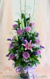 แจกันดอกไม้สด / Flower Vase  PV30
