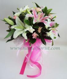 ช่อดอกไม้สด / Flower Bouquet - PBQ26