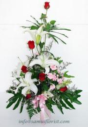 แจกันดอกไม้สด / Flower Vase   PV08